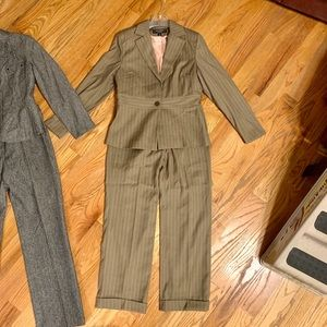 2 Signature by LL size 6 suits - Pewter/Pink Gray